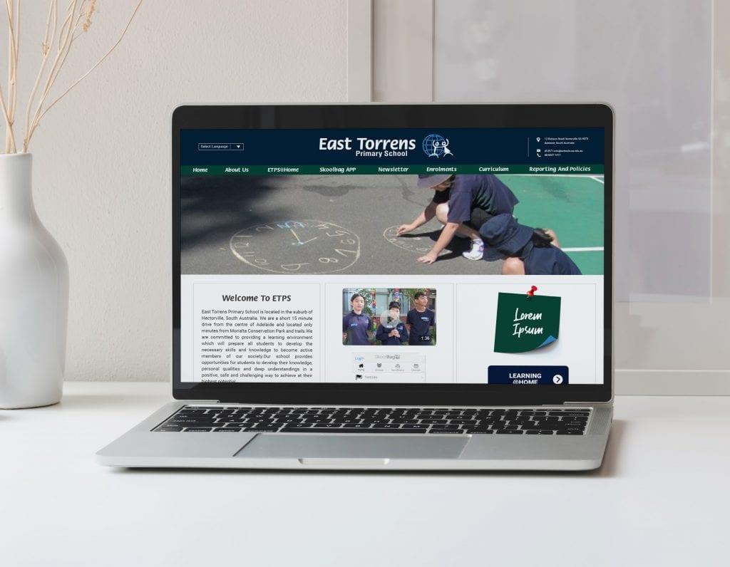 Website - East Torrens Primary School
